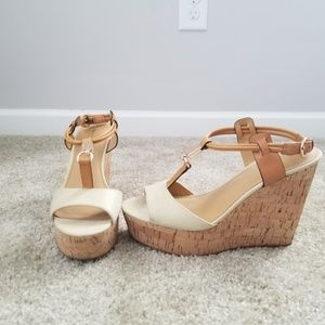 Coach Wedges Size:8.5